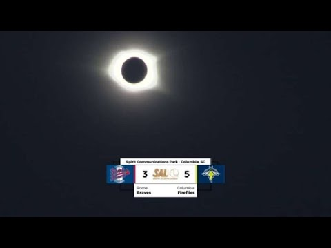Solar eclipse reaches totality in Columbia