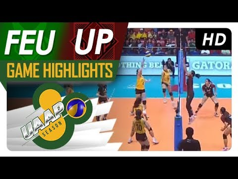 UAAP 80 WV: FEU vs. UP   Game Highlights   March 24, 2018
