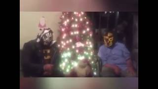 Mensaje navideño de L.A Park y Pierroth Jr