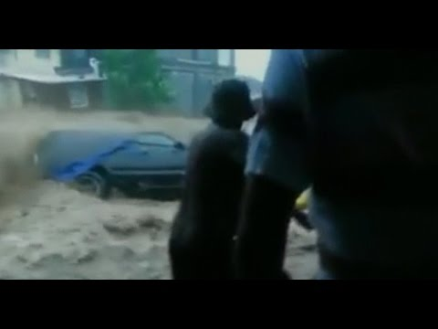 Tropical Storm Erika causes dangerous flash flooding in Dominica