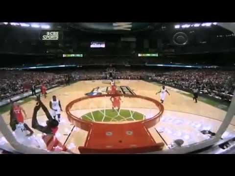 Anthony Davis Alley Oop Dunk vs Louisville | 2012 NCAA Final Four | HD |