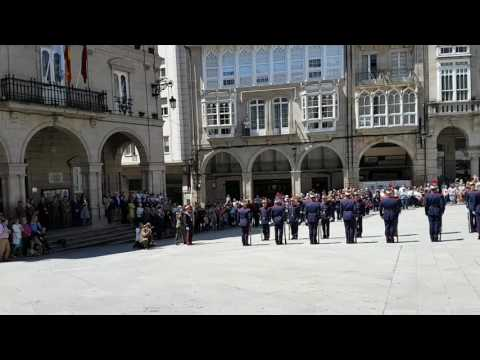 Desfile Guardia Real. Ourense 5 -2017.