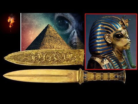 "Tutankhamen's Dagger Is Made From ""Alien Gold""?"