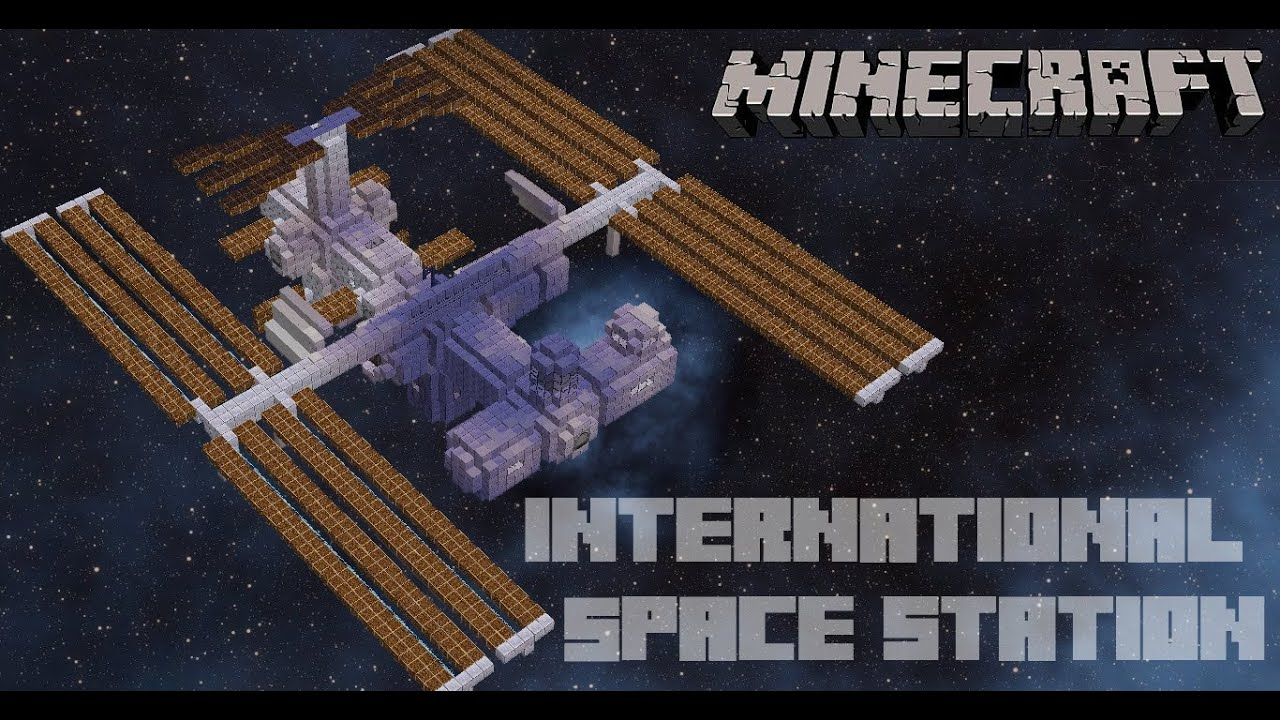 Minecraft international space station iss youtube gumiabroncs Choice Image
