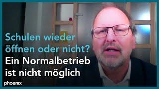 Schaltgespräch mit heinz-peter meidinger (präsident des deutschen lehrerverbandes (dl)) zu den herausforderungen eines schulstarts und beschlüssen der ku...