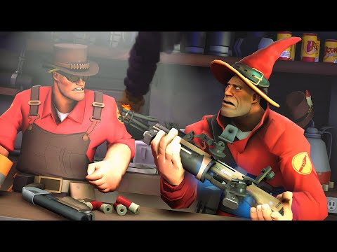 tf2 meet the pyro weapons