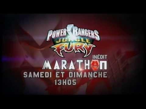 Power Rangers Jungle Fury - Canal J - Promo - Marathon samedi et dimanche à 13h05