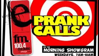 account balance e fm prank call
