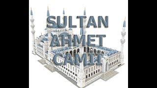 Sultan Ahmet Camii 3D Puzzle Maket yapımı - Blue Mosque