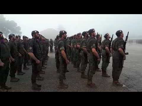 Unos 2.500 militares desfilan en el LII aniversario de la Brilat
