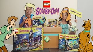 LEGO SCOOBY-DOO Mystery Builder Surprise Box Opening! #legoscoobydoo