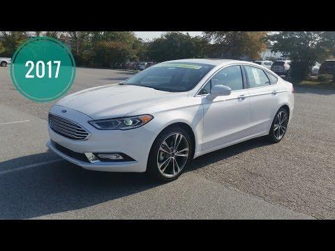 2017 Ford Fusion Titanium - Sport - SE - Review - Interior & Exterior - Remote Start
