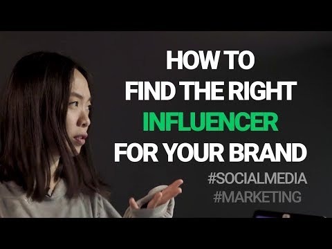 How to find the right social media influencer to work with your brand | #ChiaExplains