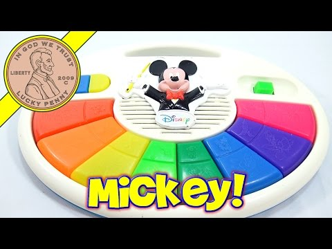 Disney Mickey Mouse Music and Lights Piano, Mattel Toys
