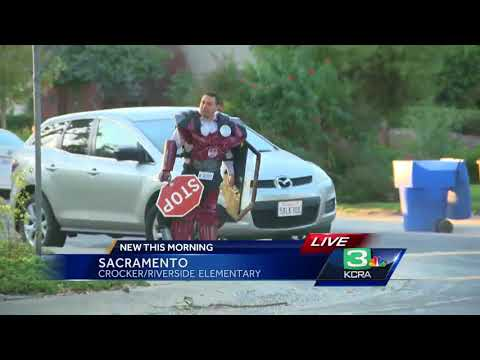 Sacramento schools participate in National Walk to School Day