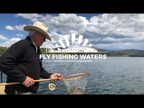 Fly Fishing Georgetown Lake For Big Rainbow Trout With Dry Flies | Fly Fishing Waters