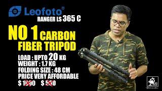 Leofoto LS-365C Carbon Fiber Tripod GARANSI RESMI