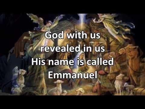 Emmanuel (Christmas version) - Instrumental with Lyrics (no vocals)