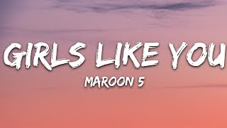 Download lagu Maroon 5 - Girls Like You (Lyrics) ft. Cardi B