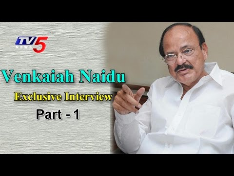 Union Minister Venkaiah Naidu Exclusive Interview | AP Special Package | Special Leader#1 | TV5 News