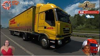 "Euro Truck Simulator 2 (1.37)   Iveco Stralis SCS reworked v1.0 by Fernando SB Delivery in Holland   Promods map v2.46 Dirty Krone DLC and SCS Trailers Skins 4 Types of Lift Gate for SCS Trailers by Zar Pava Animated gates in companies v3.7 [Schumi] Real Company Logo v1.0 [Schumi] Company addon v1.8 [Schumi]  Motorcycle Traffic Pack by Jazzycat FMOD ON and Open Windows Naturalux Graphics and Weather Spring Graphics/Weather v3.5 (1.37) by Grimes Test Gameplay ITA + DLC's & Mods Add new interior for both sides(EU/UK) Add new chassis variants Add new textures Add new sideskirt variants and more. https://forum.scssoft.com/viewtopic.php?f=35&t=284965  SCS Software News Iberian Peninsula Spain and Portugal Map DLC Planner...2020 https://www.youtube.com/watch?v=NtKeP0c8W5s Euro Truck Simulator 2 Iveco S-Way 2020 https://www.youtube.com/watch?v=980Xdbz-cms&t=56s  #TruckAtHome #covid19italia Euro Truck Simulator 2    Road to the Black Sea (DLC)    Beyond the Baltic Sea (DLC)   Vive la France (DLC)    Scandinavia (DLC)    Bella Italia (DLC)   Special Transport (DLC)   Cargo Bundle (DLC)   Vive la France (DLC)    Bella Italia (DLC)    Baltic Sea (DLC)   American Truck Simulator New Mexico (DLC) Oregon (DLC) Washington (DLC) Utah (DLC)     I love you my friends Sexy truck driver test and gameplay ITA  Support me please thanks Support me economically at the mail vanelli.isabella@gmail.com  Roadhunter Trailers Heavy Cargo  http://roadhunter-z3d.de.tl/ SCS Software Merchandise E-Shop https://eshop.scssoft.com/  Euro Truck Simulator 2 http://store.steampowered.com/app/227... SCS software blog  http://blog.scssoft.com/  Specifiche hardware del mio PC: Intel I5 6600k 3,5ghz Dissipatore Cooler Master RR-TX3E  32GB DDR4 Memoria Kingston hyperX Fury MSI gtx 970 Twin Frozr Gaming 4gb ddr5 Asus Maximus VIII Ranger Gaming Cooler master Gx750 SanDisk SSD PLUS 240GB  HDD WD Blue 3.5"" 64mb SATA III 1TB Corsair Mid Tower Atx Carbide Spec-03 Xbox 360 Controller Windows 10 pro 64bit"