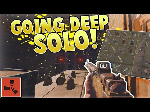 GOING DEEP SOLO! | Rust Gameplay w/ Grizzly