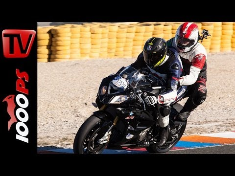 BMW S1000RR - Insane Sozius Ride at Racetrack