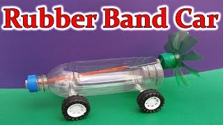 Amazing Rubber Band Powered Car | How To Make A Rubber Band Car At Home | Powerful Air Car DIY