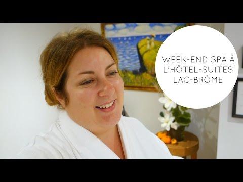 WEEK-END SPA À L'HÔTEL-SUITES LAC-BRÔME | Vlogtobre 22 | Eve Martel | Vlogtober