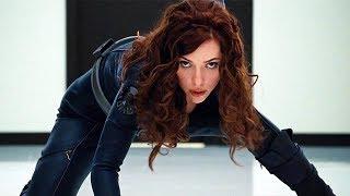 Black Widow vs Hammer Security - Fight Scene - Iron-Man 2 (2010) Movie CLIP HD
