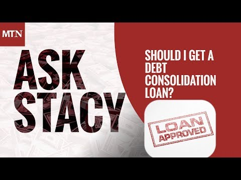 Should I get a Debt Consolidation Loan?