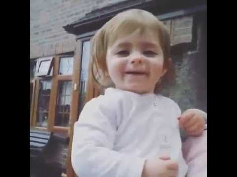 Clondalkin toddler's reaction to seeing snow for the first time