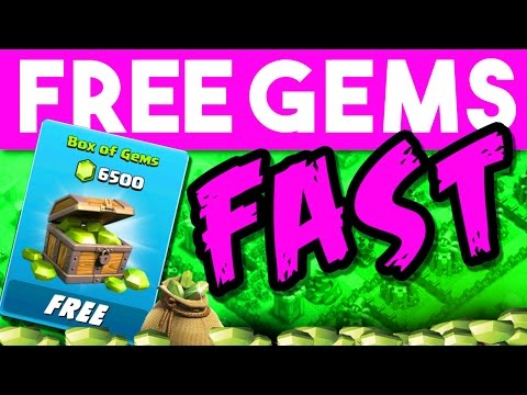 CLASH OF CLANS FREE GEMS  -  iTunes & Google Play Code in this VIDEO!! - - FAST WAY TO GET FREE GEMS