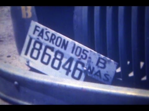 1949 FASRON 105 PANAMA CANAL ZONE 16MM FILM
