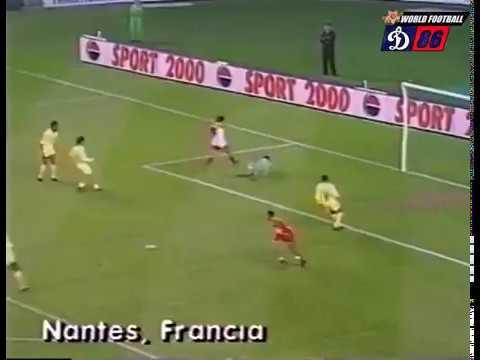 Nantes - Monaco Championnat Saison 1989 - 1990 Version Non Française
