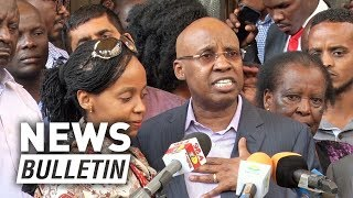 I'm an innocent man, Wanjigi says after 72 hours siege