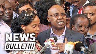 I'm an innocent man, Wanjigi says after 72 hours siege