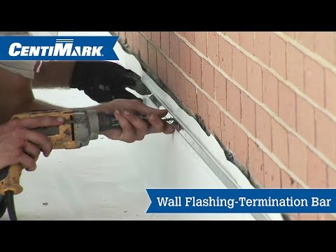 Wall to Roof Flashing Using Termination Bar Video | CentiMark Channel