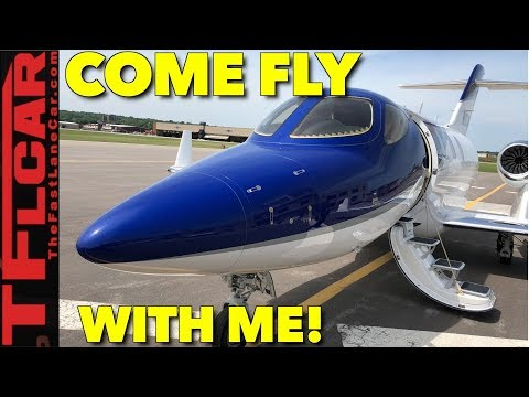 Honda Jet: Take A Ride in the Most Expensive Honda You Can Buy!
