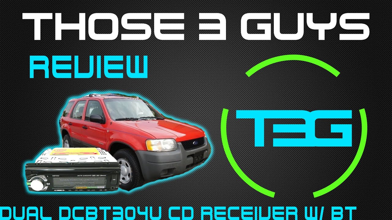 2001 Ford Escape Stereo Installation Dual Dcbt304u Youtube Xr4115 Wiring Harness
