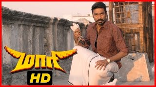Maari Tamil Movie | Scenes | Pigeons come back to Dhanush | Kajal Aggarwal | Robo Shankar