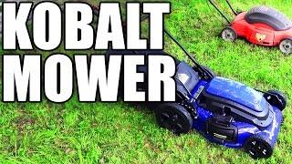 Kobalt KM 210 Mower Review- Best Electric Under $200 | EpicReviewGuys CC