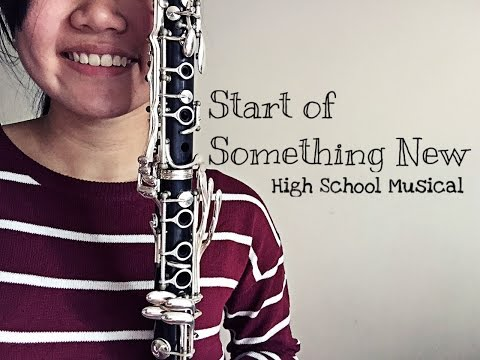 Start of Something New- High School Musical (Clarinet Cover)