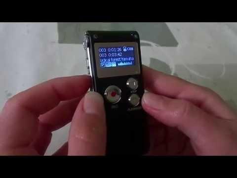 Test Dictaphone lecteur MP3 8GB EchoAcc®