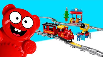 Lego Duplo Zug für den Lucky Bär