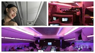 Airbus A350 vs Boeing 787: the Qatar Airways Business Class Experience!