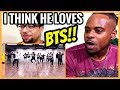 I Think He LoveS BTS! - BTS (방탄소년단) 'MIC Drop' Dance Practice (MAMA dance break ver.) REACTION!!