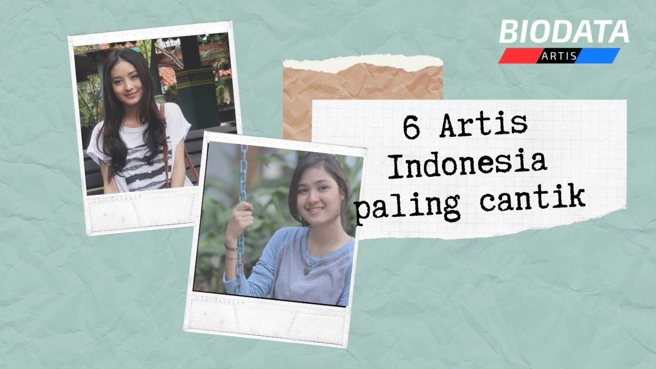 6 Artis Indonesia paling cantik yang lahir tahun 1998 ...