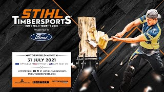 STIHL TIMBERSPORTS® European Trophy 2021 (english commentary)