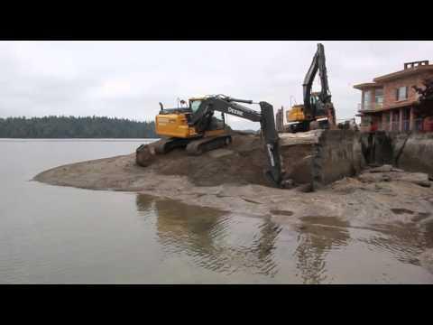Squaxin Island Tribe shoreline restoration